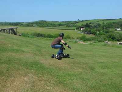Mountain Boarding North Devon