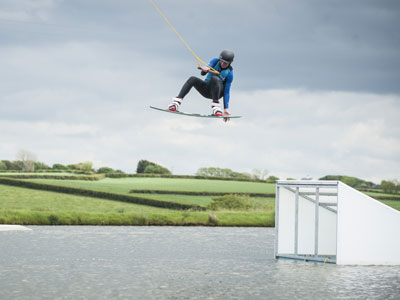 Wakeboarding North Devon