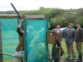 Clay Pigeon Shooting North Devon