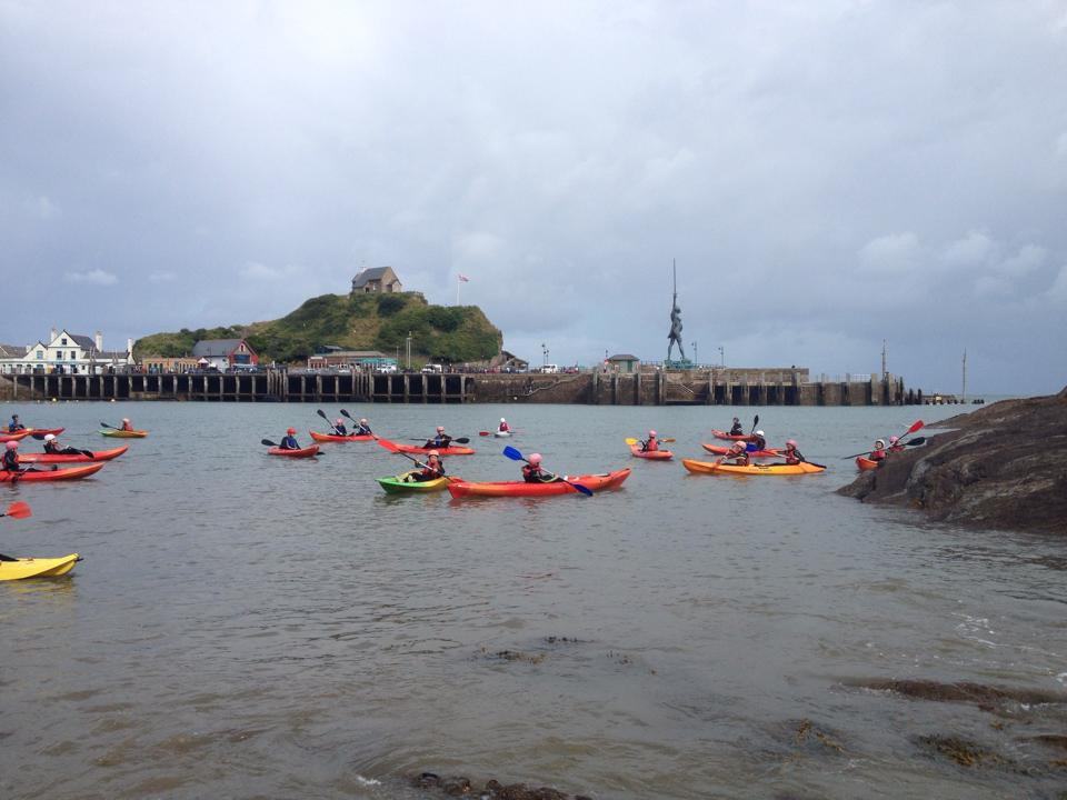 kayaking North Devon