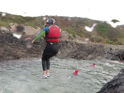 Coasteering North Devon